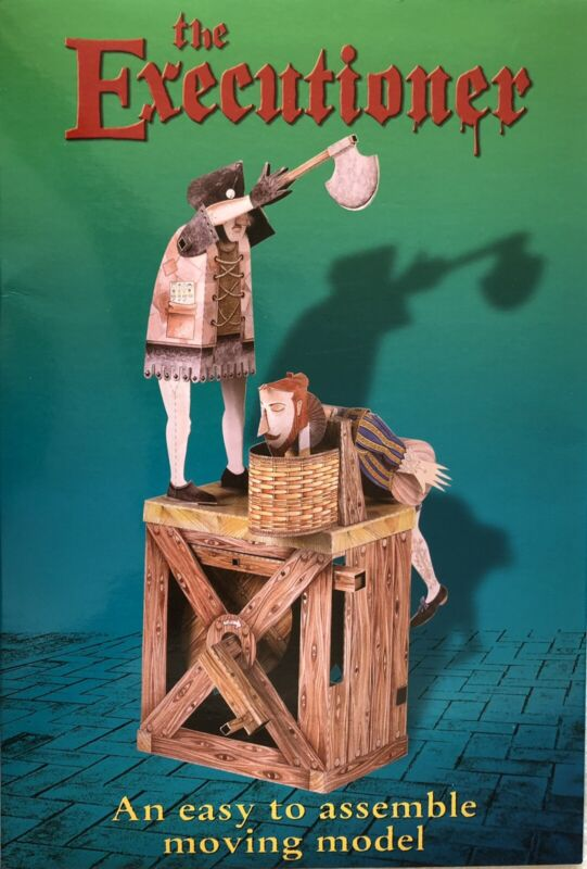 THE EXECUTIONER AN EASY TO ASSEMBLE MOVING MODEL KEITH NEWSTEAD AUTOMATA KIT