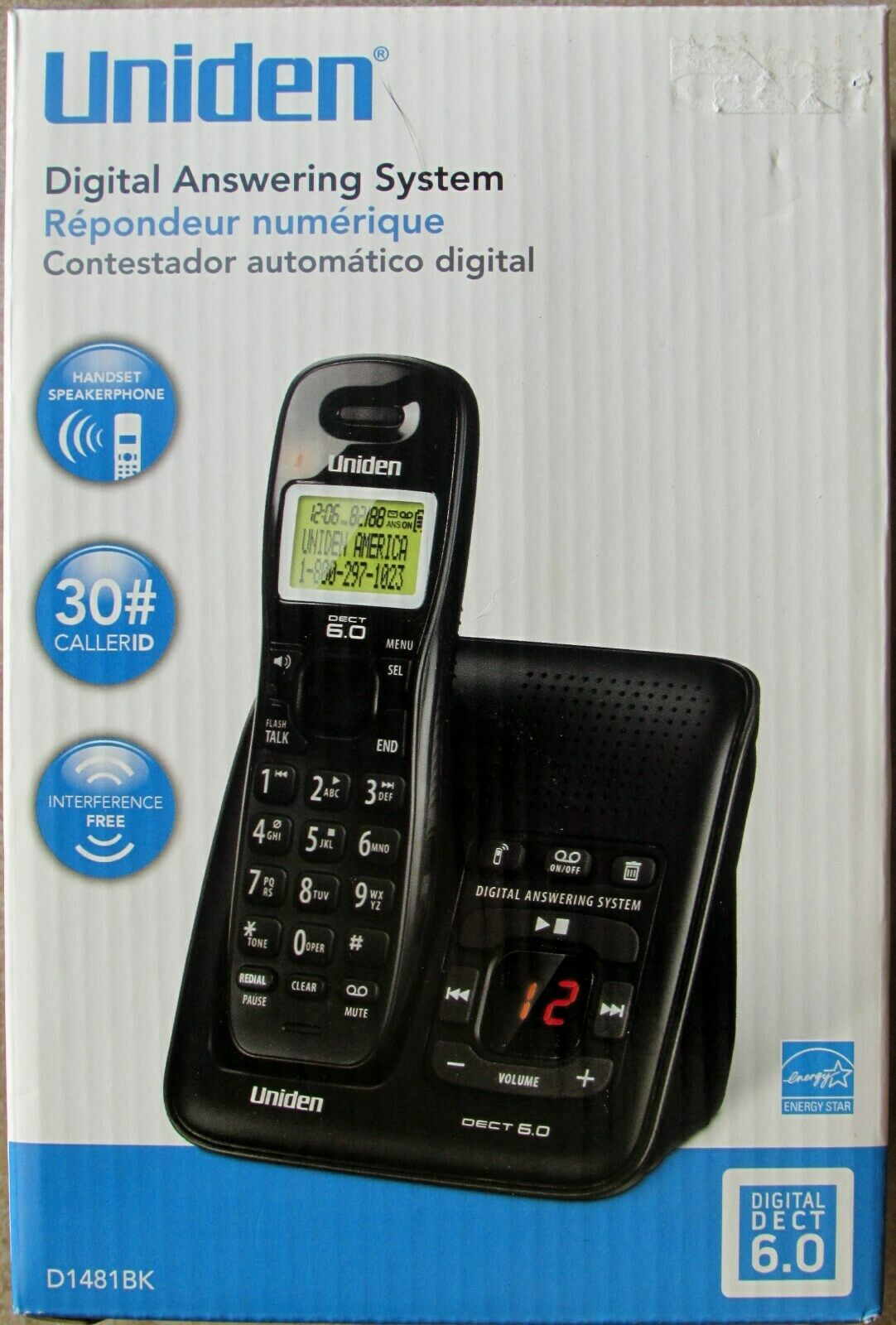 Uniden Digital Answering Phone System