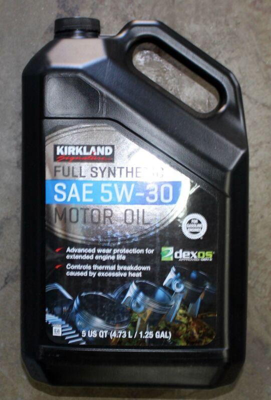 Kirkland Signature SAE 5W-30 Full Synthetic Motor Oil 5 Quart