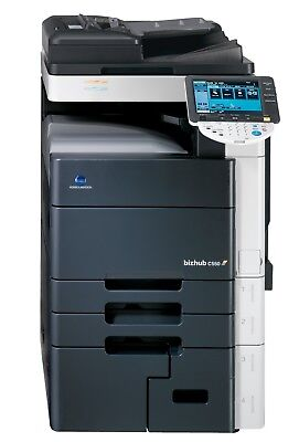 Konica Minolta Bizhub C550 Copier Printer Scanner Network Fiery