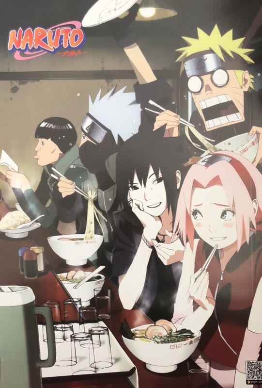 Japanese Anime NARUTO Shippuden Poster #E8 Sasuke Kakashi Sakura