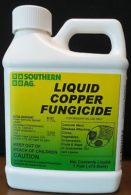 Southern Ag Liquid Copper Fungicide  16Oz   1 Pint