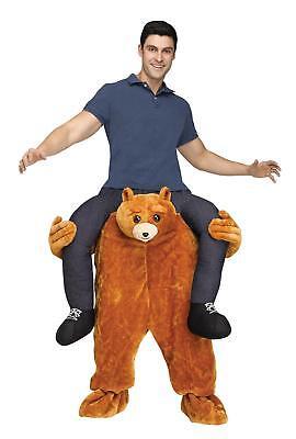 Carry Me Teddy Bär - lustiges Kostüm Fasching Halloween Einheitsgröße Erwachsene