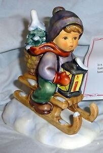 W. Goebel Hummel Figurine 396 2/0 Ride Into Christmas #727 New in Box