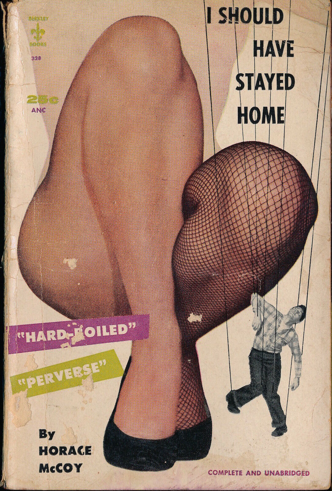 I SHOULD HAVE STAYED HOME Horace Mccoy HARDBOILED Vtg Paperback 1955 RC 127009 - $5.00