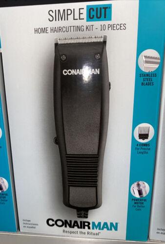 Conair Man Simple Cut 10 Piece Home Haircutting Clipper Kit
