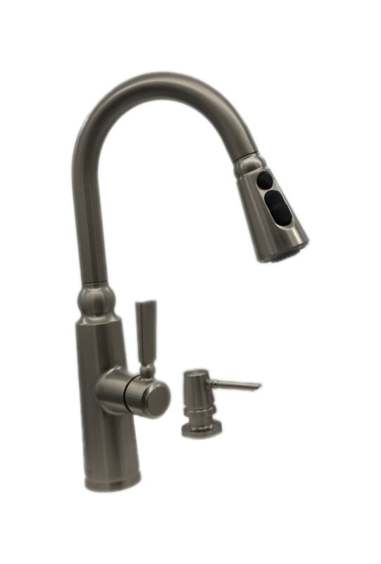 MOEN Coretta Single-Handle Pull-Down Sprayer Kitchen Faucet Stainless