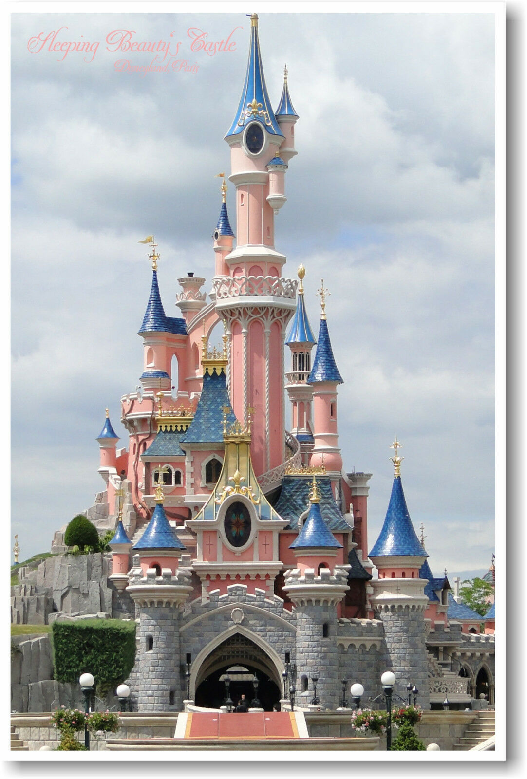 Sleeping Beauty Castle Disneyland Paris Euro Disney
