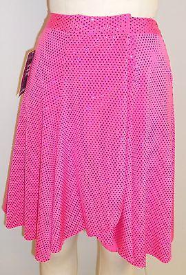 HOT PINK SPOTLIGHT SEQUIN ON PINK LYCRA DANCE COSTUME SKIRT-Size MEDIUM #2](Spotlight Dress Up Costumes)