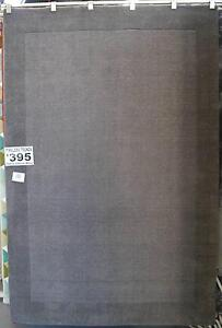 New Timeless Trends Plain Grey Pure Plush Wool Rugs Melbourne CBD Melbourne City Preview