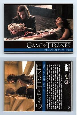Winds Of Winter #30 Game Of Thrones Season 6 Rittenhouse 2017 Trading Card