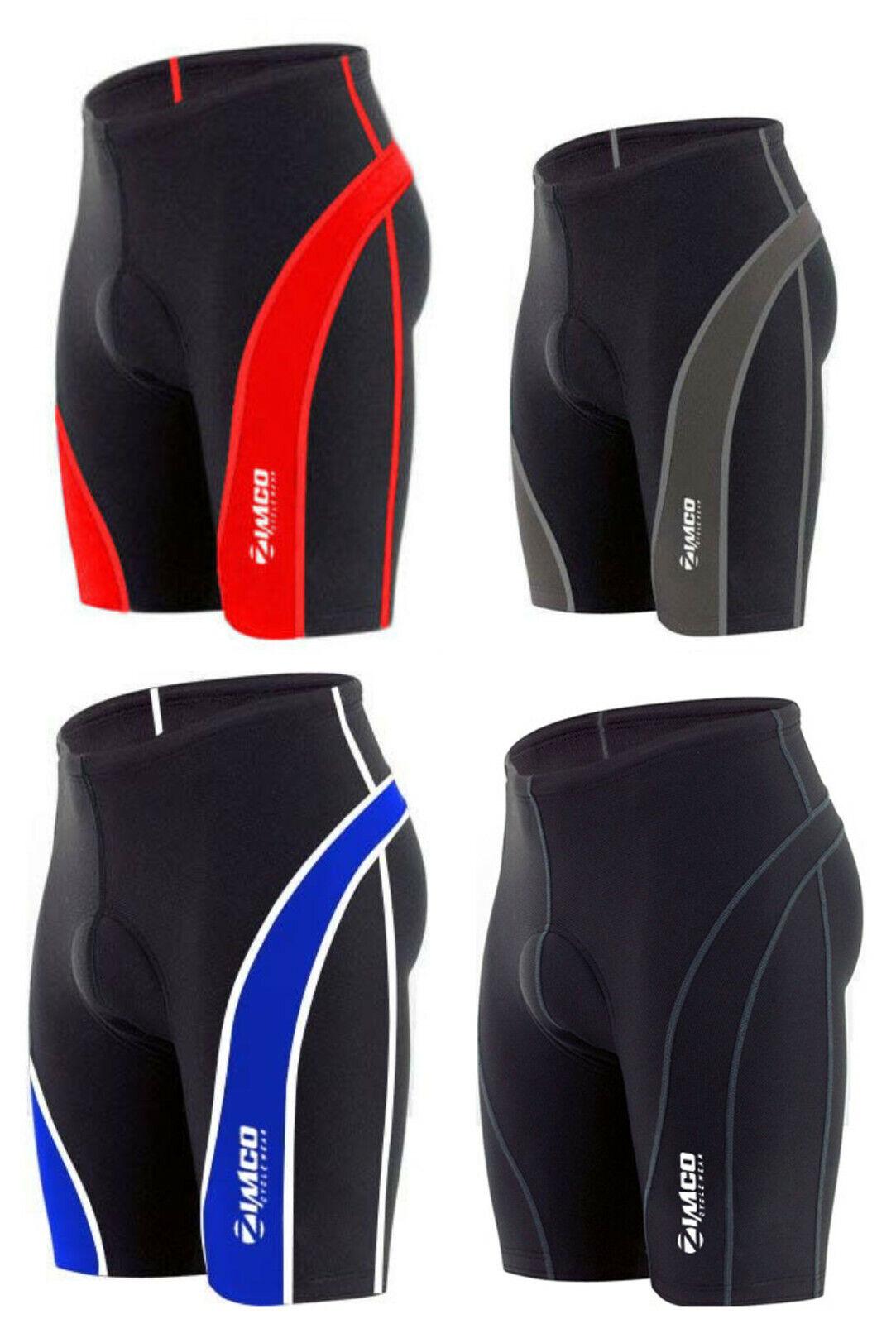 Zimco Pro Cycling Shorts Biking Bicycle Bike Shorts Black CO