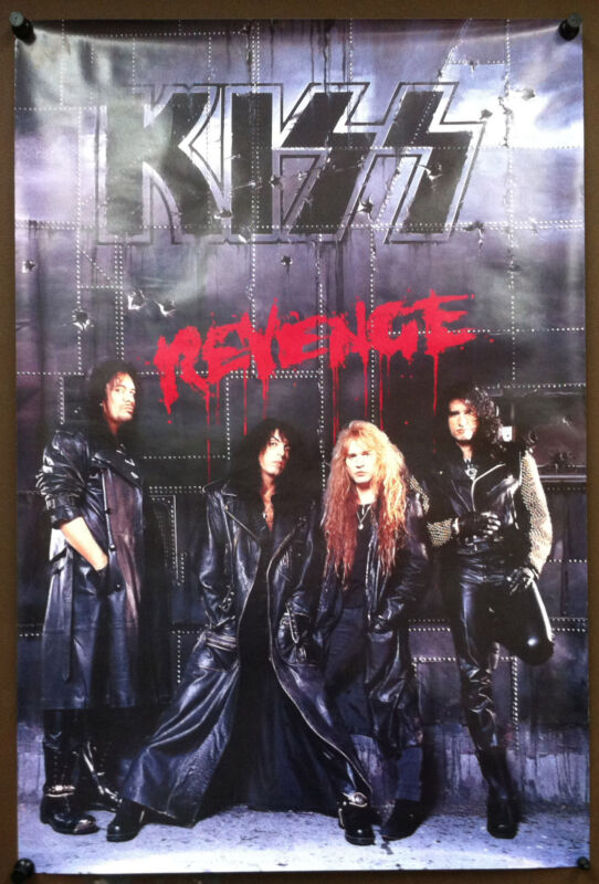 KISS Revenge 1992 Vintage Original Promo Poster