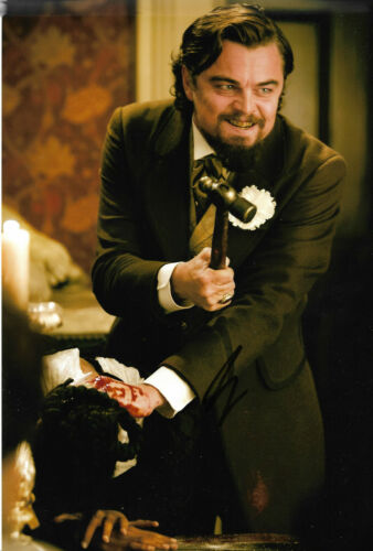 "Leonardo DiCaprio ""Django"" Autogramm signed 20x30 cm Bild"