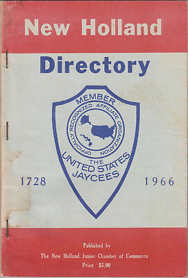 1966 Directory of New Holland (Lancaster County, PA), used for sale  Milton