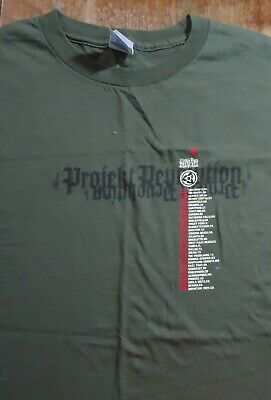 Linkin Park Projekt Revolution Concert Tour Shirt (Large) Korn Snoop Dogg Used