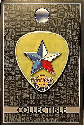 Hard Rock Cafe Houston Texas Core Lone Star Pick Pin 2016 HRC TX LE New # 96564