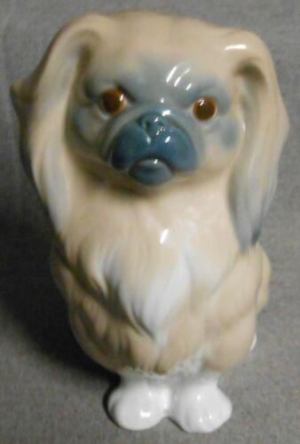 Lladro PEKINGESE DOG - SITTING Porcelain Figurine HAND MADE in SPAIN