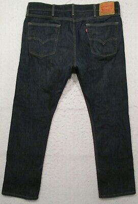 MENS LEVIS 513 SLIM STRAIGHT FIT STRETCH JEANS SIZE 38 X 30