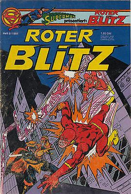 SUPERMAN präsentiert: ROTER BLITZ 1981 # 2 - EHAPA VERLAG - ZUSTAND 2-
