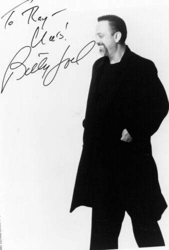 Billy Joel Autograph Signed 8x10 Photo 1997 Singer Piano Man