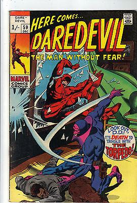 Daredevil    #59    VFN    Torpedo