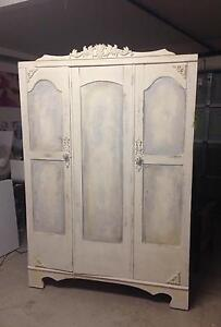 Antique wardrobe/armoir French shabby chic Robina Gold Coast South Preview