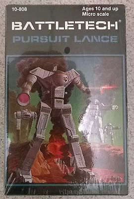 Ral Partha Battletech 10-808 Pursuit Lance (2x Commando, Jenner,Vulcan) (Mint)