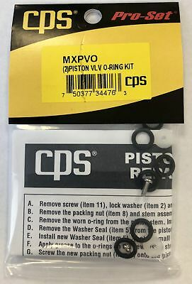 Cps Mxpvo Triple-seal Valve Repair Kit Seals Only- Will Service 2 Valves