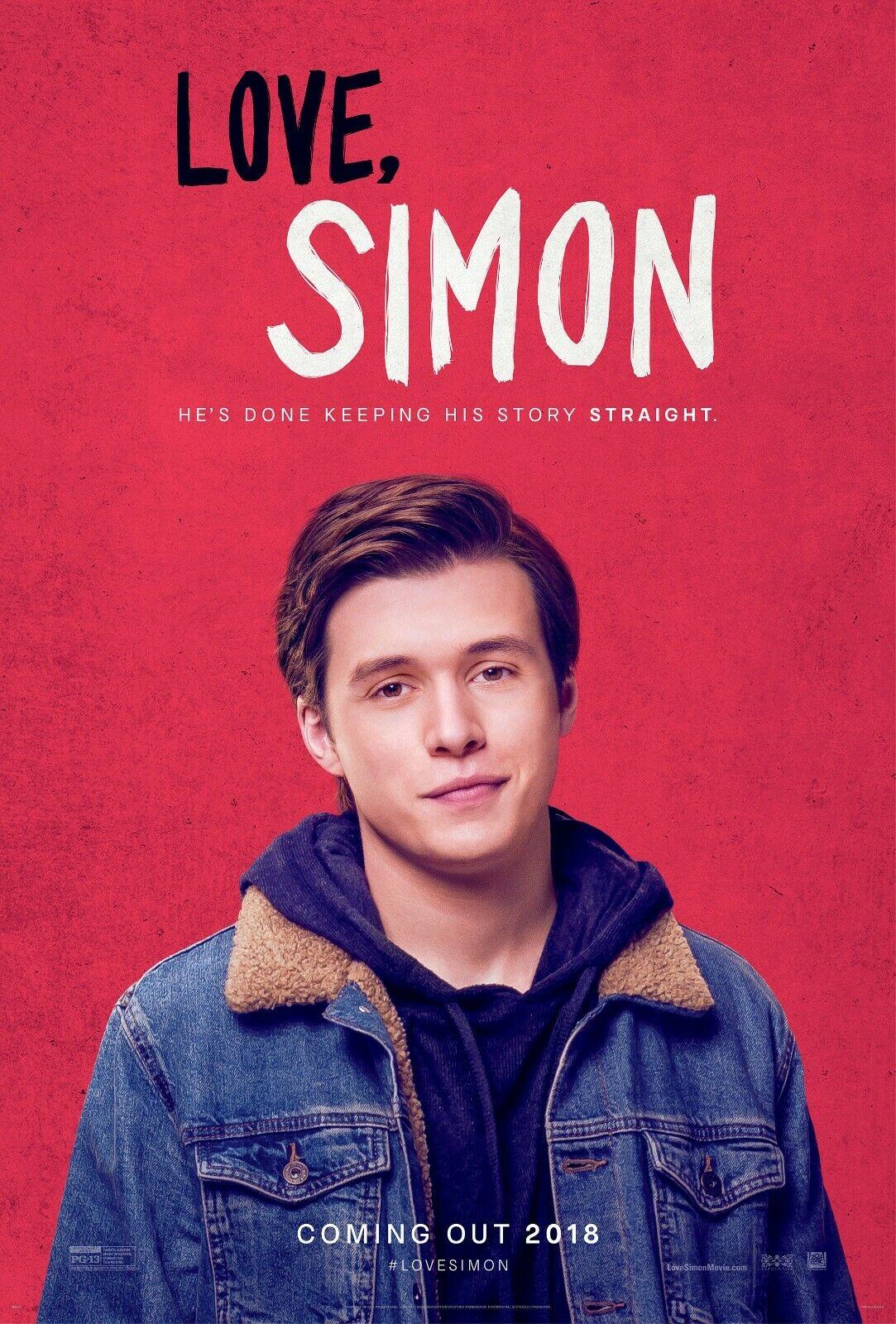 Love Simon movie poster (a) - Nick Robinson - 11 x 17 inches