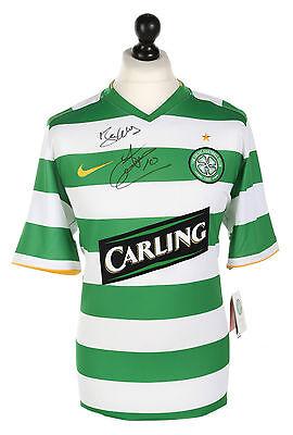 John Hartson Signed Celtic 08/10 Home Shirt Autograph Jersey Memorabilia + COA