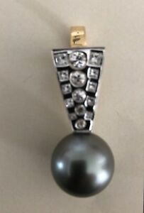 Hand crafted pearl pendant