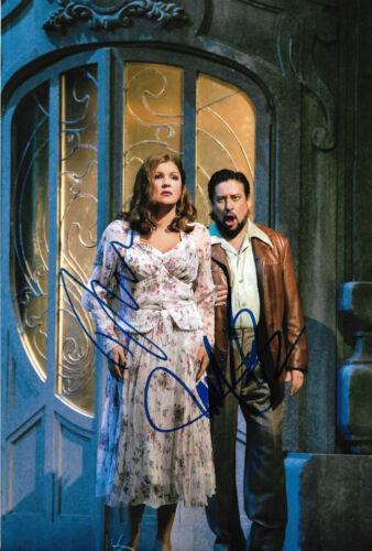 Music Classical, Opera & Ballet Anna Netrebko Opera Signed 8x12 Inch Photo Autograph