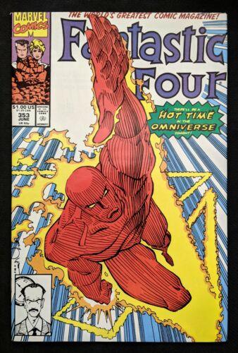 Fantastic Four #353 1st Moebius M Moebius Marvel 1991 Loki Disney+