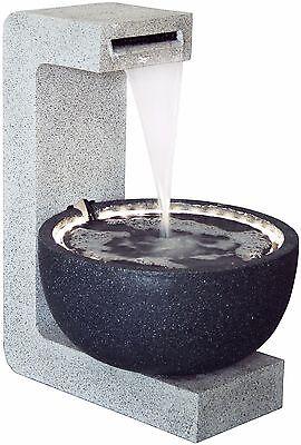 Design Gartenbrunnen mit LED´s + Pumpe Garten Spring-Brunnen Zierbrunnen außen