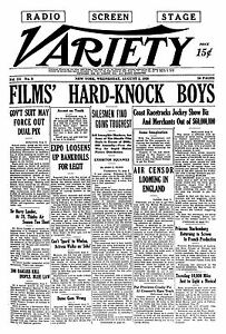 Image result for images of variety magazine