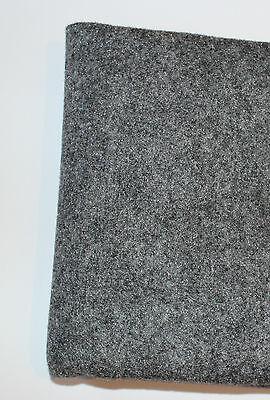 (7,10€/m²) Filz Boxen Teppich Bespannstoff Bezugsstoff 150x75cm hellgrau #2873