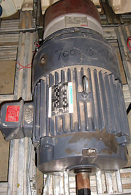 Marathon Electric Motor With Stearns Brake # 3E213TTFS7942ANL , 7 1/2 Hp , (W2)