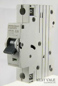 Dorman Smith Loadlimiter XS - X1PC06 - 6a Type C Single Pole MCB Used