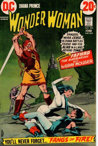 DC Wonder Woman #202 Oct 1972