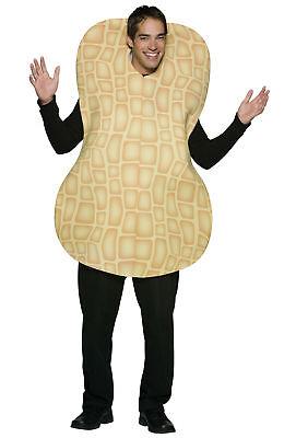 Peanut Snack Food Fun Adult Costume Poly Foam Tunic Halloween Rasta Imposta](Halloween Fun Snacks)
