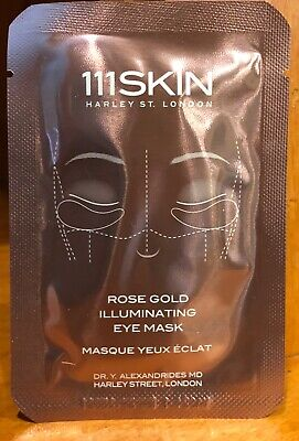 111Skin Rose Gold Illuminating Eye Mask New FREE SHIPPING