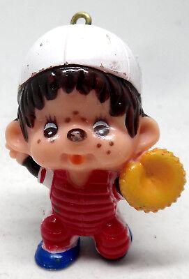 Monchhichi Figur Baseballspieler Fänger Sekiguchi 1979 Japan