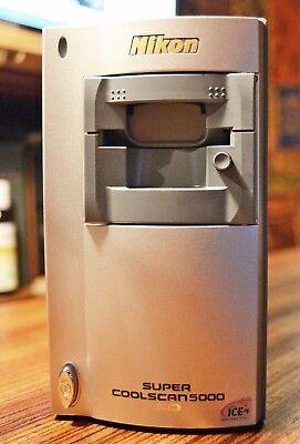 NIKON COOLSCAN 5000 ED Film Scanner  w/ MA-21  MINT Hi-Ser. SERVICED + WARRANTY