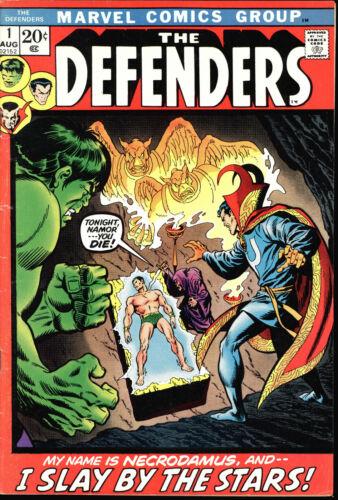 DEFENDERS #1 HULK, DR STRANGE, SUB-MARINER KEY BRONZE AGE BOOK !