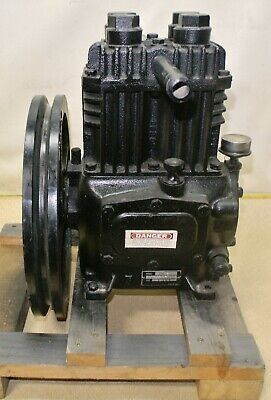 Industrial Air Compressor Pump Size 2 12 X 2 Model 210 3 Npt 12 Psi 0 - 30