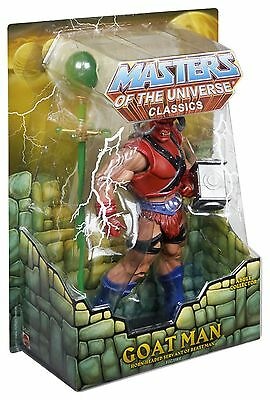 Masters of the Universe Club Eternia Goat Man Exclusive Action Figure  MOTU
