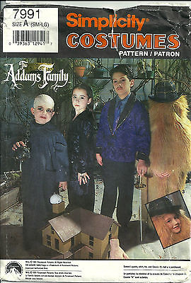Morticia Dress Pattern (Simplicity Pattern 7991 The Addams Family Childs Gomez, Morticia, Uncle)