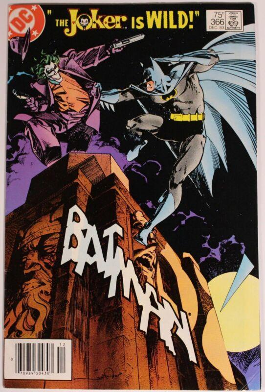 Batman 366 1st Appearance Jason todd in Robin Costume Joker KEY Issue Comic