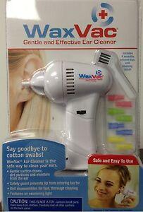 Waxvac as Seen on TV Earwax Remover Vacuum Ear Wax ... Ear Wax Removal As Seen On Tv